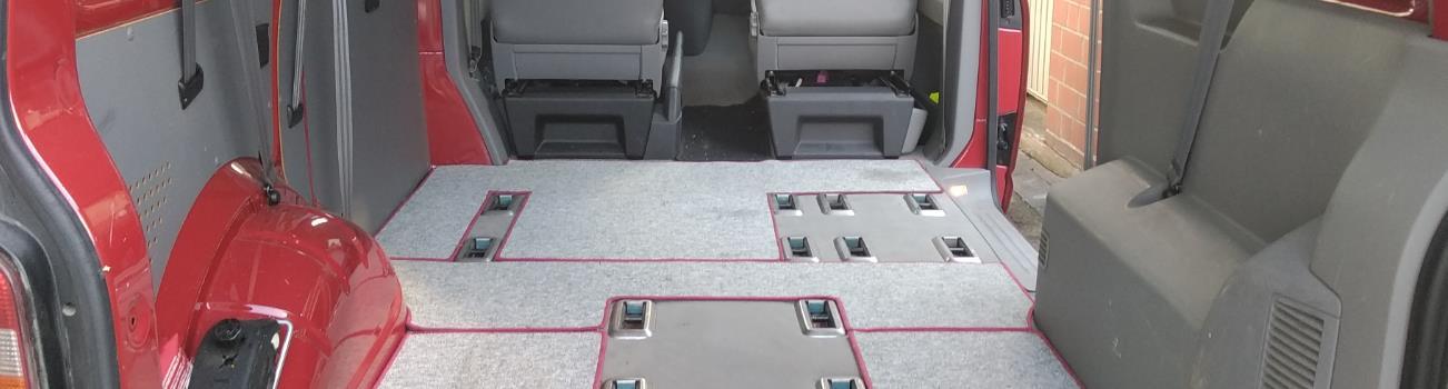 VW Bus T5 Ausbau Anleitung